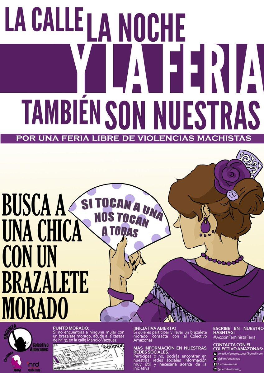 #AcciónFeministaFeria