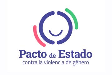 Resultado de imagen de logo pacto de estado contra la violencia de género