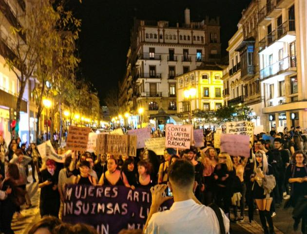 Manifestación 8 de marzo 2017 Sevilla