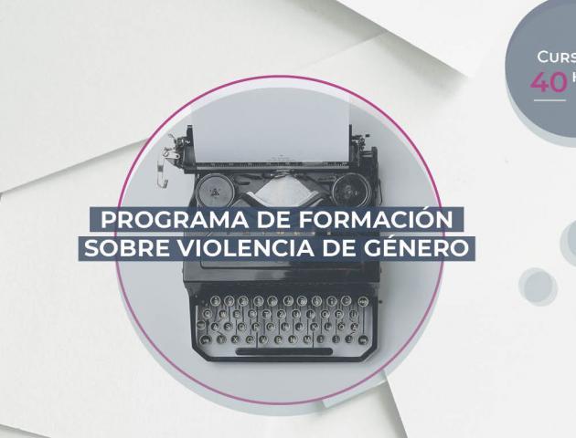 Formación en violencia de género