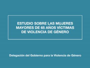 Mujeres mayores de 65 años víctimas de violencia de género