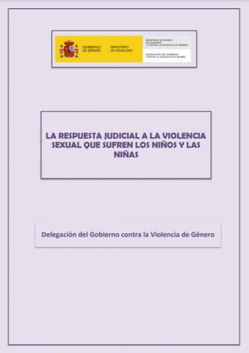 Estudio sobre la respuesta judicial a la violencia sexual que sufren los niños y las niñas