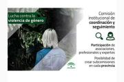 Comisión institucional de Andalucía de coordinación y seguimiento de acciones para la erradicación de la violencia de género